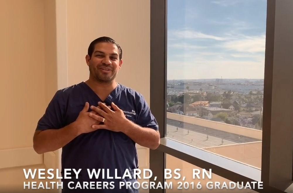 Wesley Willard, BS, RN Health Careers Program 2016 Graduate