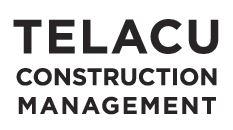 Telacu Construction Management logo